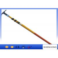 220KV High Voltage Earthing Device Fiberglass Telescopic Hot Stick High Strength Manufactures