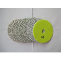 Quality 3mm Thickness Diamond Flexible Polishing Pad Wear Resistance Environmental Protection for sale