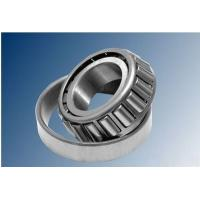 China Low Friction Single Row Tapered Roller Bearings Steel Cage With P5 / P4 / P2 Precision on sale