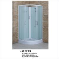 China Fabric Glass Quadrant Shower Enclosures , Sliding Door Shower Room 900*900*2000mm on sale