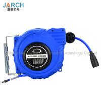 China ABS Plastic Hanging Automatic Retractable Hose Reel Air Drums 8X12mm PU Mesh on sale