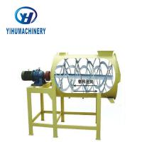 China Horizontal Dry Powder Ribbon Mixer Fertilizer Type CE Certificate on sale