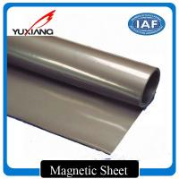 China Eco Friendly Plastic Flexible Magnetic Sheet 0.4mm - 5mm Thickness Easily Folded on sale