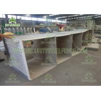 Hot Dipped Galvanized Welded Gabion Baskets, 0.61 × 0.61 × 3.05m Gabion Wall Baskets Manufactures