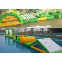 Seaside Series Summer Fun Inflatable Aqua Park Floating Water Playground Manufactures
