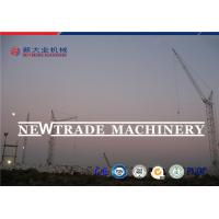 Max Capacity 10T Construction Electric Tower Crane With 65m Jib QTZ125-6015 Manufactures