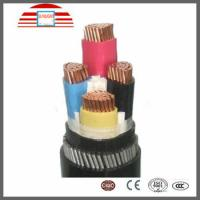 Buy cheap Waterproof PVC / XLPE Insulated Electrical Cables And Wires 4 Core Power Cable Low Voltage from wholesalers