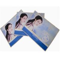 China Disposable Film Lamination Cosmetics Packaging Bags Gravure Printing / Heat Seal on sale