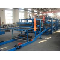Rock Wool Sandwich Panel Production Line Machine / Sandwich Making Equipment Manufactures