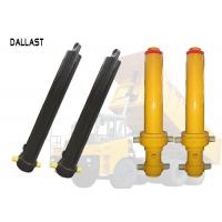 Single Acting Hollow Plunger Hydraulic Cylinder Telescopic Multistage for Dump Truck Manufactures