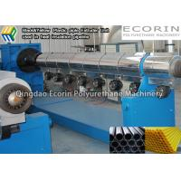 China Thermal Insulation HDPE Pipe Making Machine For Plastic Pipe Extrusion TUV on sale