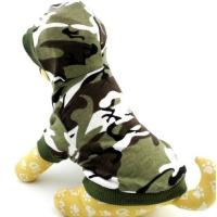 camouflage army green Pet Puppy Shirt Pet Clothes Vest T Shirt Manufactures
