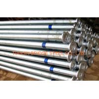 Zinc Coated Galvanized Steel Pipe For Air Vapor , 400mm 300mm GB/T3091 Manufactures
