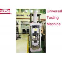 Single Zone Design Mechanical Tensile Testing Machine Microcomputer Controlled Manufactures