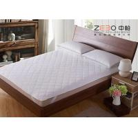 China Diamond Quilted Mattress Protector , King Size Mattress Topper ZB-MP-07 on sale