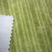Sofa fabric with stripe style and corduroy design Manufactures
