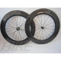 China china factory directly sell light road racing bicycle clincher wheelsets 700c 88mm wheels on sale
