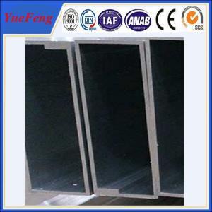 Hot! aluminium profile tube manufacturer,  square aluminum profile Manufactures