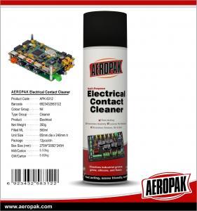 AEROPAK 500ML aerosol spray can Multi-Purpose Electrical Contact Cleaner Manufactures