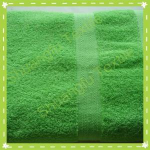 China 100% cotton cut velvet bath towel on sale