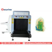 Tunnel Size 80*65cm Ray Luggage Scanner , X Ray Baggage Inspection System 38AWG Manufactures