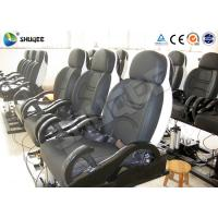 Fiberglass 5D Electronic Cinema Motion Chair Genuine Leather With Spray Air Manufactures