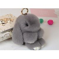 Rabbit Fur Bunny Keychain Manufactures