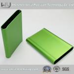 High Precision Al6061 Aluminum Shell CNC Machining Part / CNC Machine Part Anodized Green Manufactures
