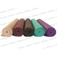 Healthy PVC Jute Yoga Mat 6mm Thickness Biodegradable PP Bag Packing Manufactures