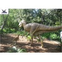 High Simulation Animatronic Giant Dinosaur Model Water / Corrosion Resistant Manufactures