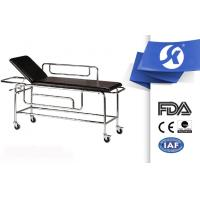 China Hospital Ambulance Equipment Patient Stretcher Trolley Artifical Leather on sale