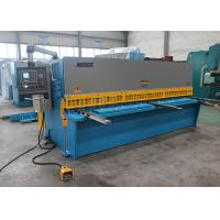EU Streamlined Design Iron Hydraulic Shearing Machine Multi - Edge Blades 25mm 3.2m Manufactures
