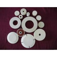 China Needle Punched Buffing Wheel For Drill , 12mm Wool Felt Polishing Pads on sale