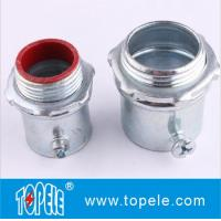Steel Material EMT Conduit And Fittings EMT Compression Insulated Connector Manufactures