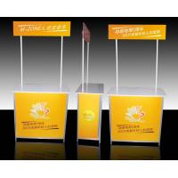 Aluminum Promotional Display Counter High Resolution Digital Printing Manufactures