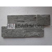 Chinese Black Cultured Stone Panels Custom For Indoor Outdoor Garden Wall Manufactures