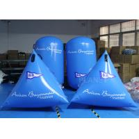 China Advertising Swimming Inflatable Swim Buoy Blue Color Fit Water Games on sale