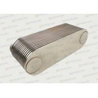 China VOLVO D7E Oil Cooler Cover / 6 Cylinder 15P Engine Oil Cooler Core on sale