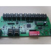 Switch board Circuit Board  Assembly with many connectors FR4 Green solder mask 1OZ Manufactures