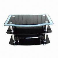 Stainless Steel Leg TV Stand, Available in Size of 90 x 60 x 58cm Manufactures