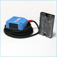 12Vdc Retro-reflective Photoelectric Sensor Switch 4m Sensing Distance Transducer Manufactures