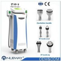Semiconductor / wind / water cooling 5 cryo treatment handles cooling cryolipolysis fat freeze slimming machine Manufactures