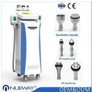 Semiconductor / wind / water machine 5 cryo treatment handles cryolipolysis fat freeze slimming machine Manufactures