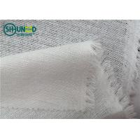 China Knitted Woven Interlining Tricot Interlining For Fusing Garment / Leather on sale