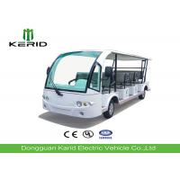 Buy cheap Battery Powered Tourist Electric Shuttle Vehicles With 11 Seats Road Legal from wholesalers