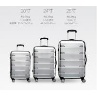 China 2017 New Design abs pc travel luggage new fashion ABS/PC luggage set on sale