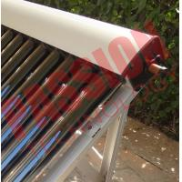 Buy cheap High Absorption Heat Pipe Collector , Solar Hot Water Collector Pitched Roof Installation from wholesalers