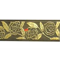 Eco Friendly Moisture Proof Carved Decorative Grill Panels 4x8 For Interior Wall Decoration Manufactures