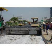 High permeability weed barrier geotextile drainage fabric for highway , railway , breakwater Manufactures