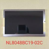 NL8048BC19-02C Industrial LCD Display , 800*480 Lcd Touch Screen Panel 550CD/M2 20 Pin Manufactures